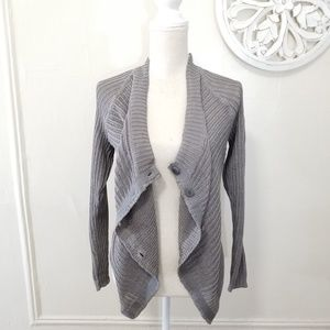 Inhabit size XS and S cotton  knitted cardigan